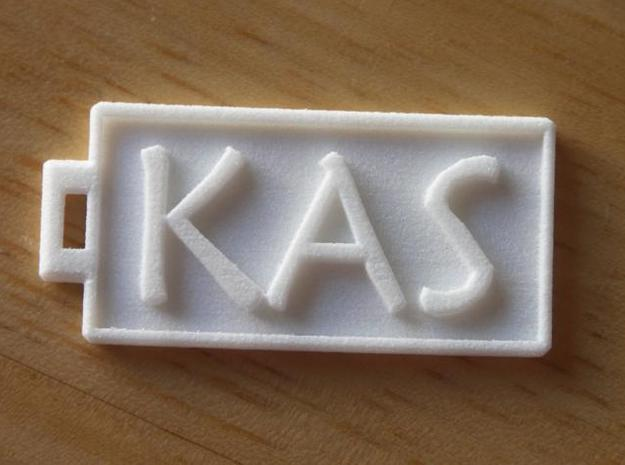 KAS Dogtag 3d printed Photo1