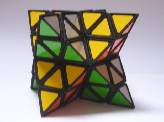 Tetrahedral Twins 3d printed Solved