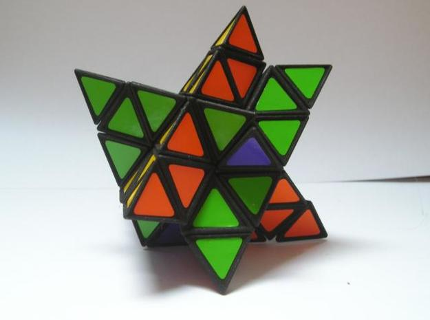 Tetrahedral Twins 3d printed Mid twist, weird shape