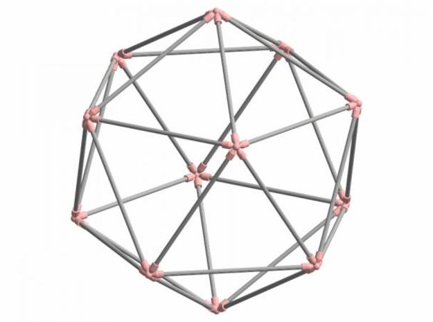Icosahedron 3d printed Description