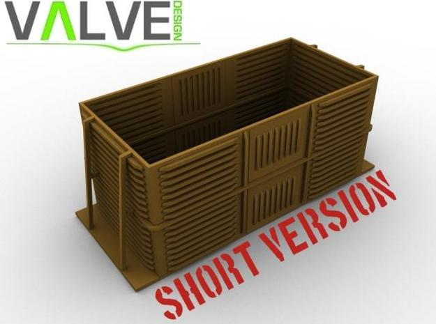 (OO Dapol Prestwin) SHORT Beet Box 3d printed Computer Render of the Short Beet Box