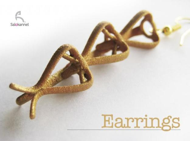 TULIP-earrings 3d printed Earrings - Buy 2pcs. for earrings!