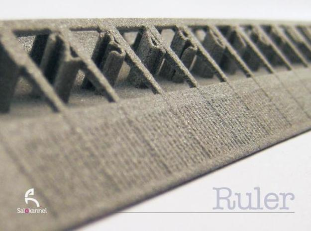 Too cool for school -Ruler 15cm/6inch 3d printed Detail