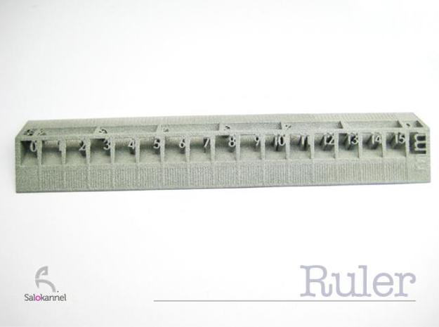 Too cool for school -Ruler 15cm/6inch 3d printed top view