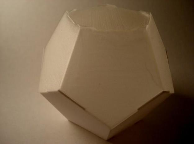 Half DodBox - Small 3d printed Closed (other point of view)