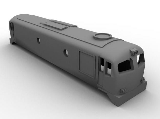 N Scale Irish Railways A Class 3d printed Computer Render
