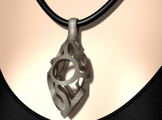 Vine Pod Pendant (Large) 3d printed Model Rendering