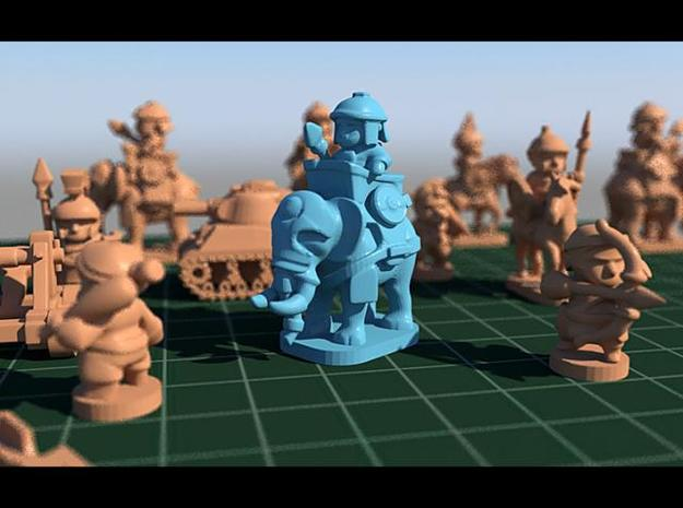war elephant pawn 3d printed war elephant pawn