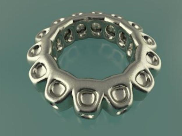 Ring A from 13,7mm to 19mm 3d printed How the ring look