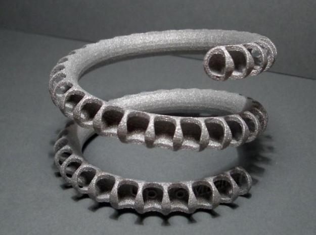 Fossil Coil heavy 3d printed photo
