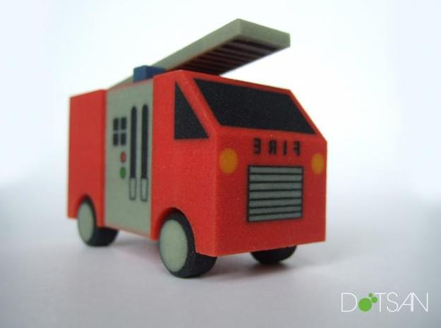 Fire Engine 3d printed Description