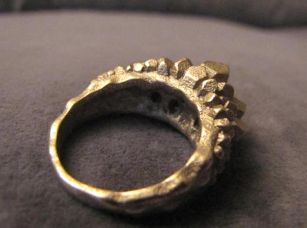 Crystal Ring size 7 3d printed Pic002