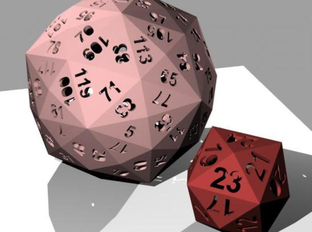 Catalan dice bundle 4 3d printed Rendering