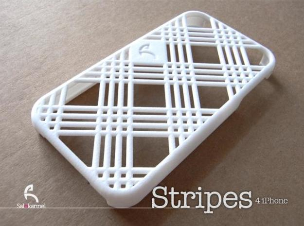Stripes - case for iPhone 4/4s 3d printed Cover your new iPhone 4 with Stripes!