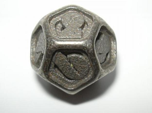 Stepped Die D12 3d printed Stepped D12