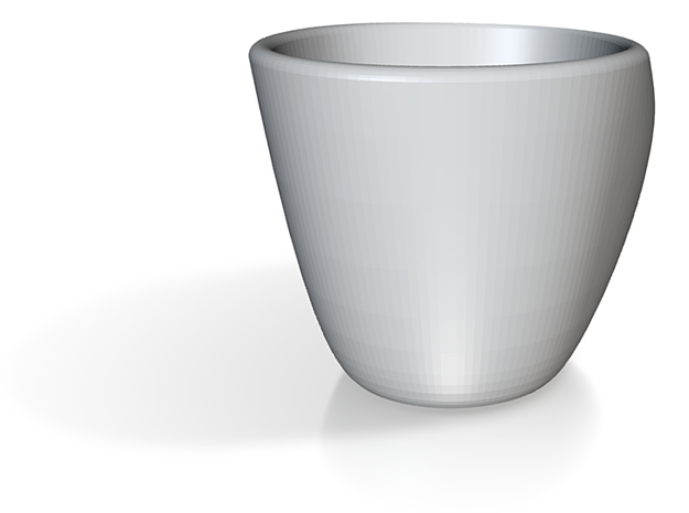 Hidden Maths Espresso Cup 3d printed