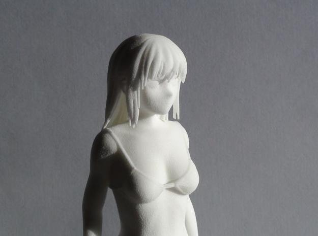 "Figurine ""Hana"" (17cm) 3d printed Picture Front Close-up"