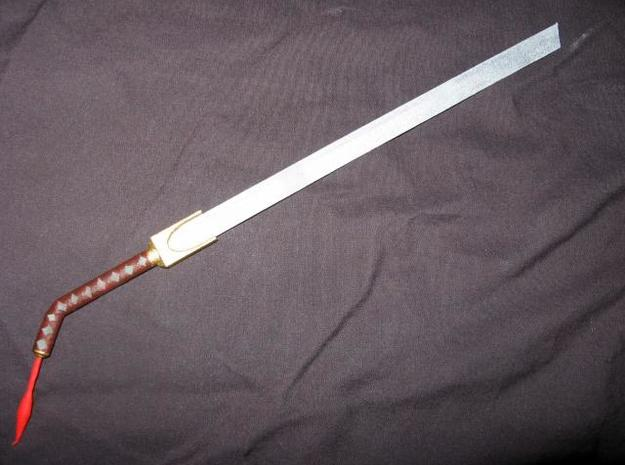 Katana7 3d printed A painted model of the actual sword