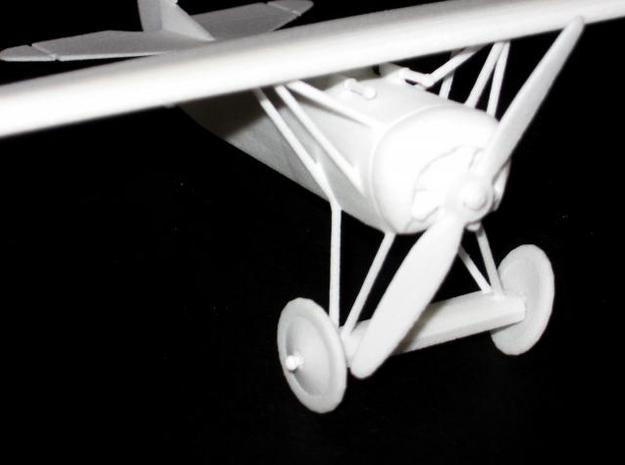 Fokker Dviii 3d printed WSF print, close-up.