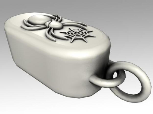 Heartbox Locket (Spider) 3d printed Loop.