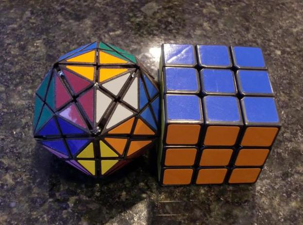 DRT Core 3d printed Compared to a standard 3x3