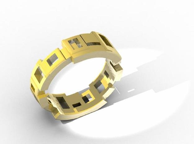 Box ring 3d printed Description
