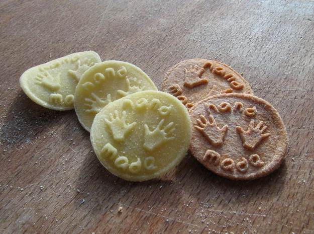 """Croxetti Pasta Stamps """"Hand made"""" 3d printed Pasta made with this stamp"""
