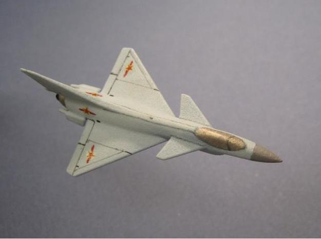 1/285 (6mm) CHINESE J-10 3d printed