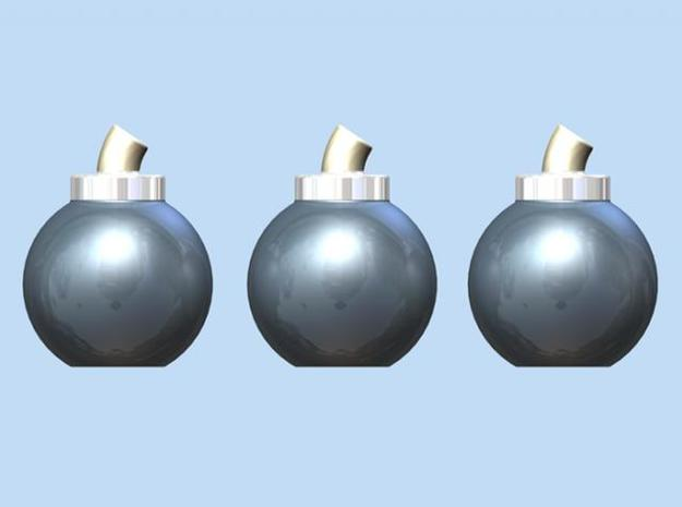 Bombs (3 Pack) 3d printed Render