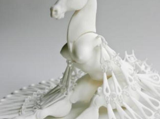 Horse Marionette Sculpture_POLYGONENFILE 3d printed Description
