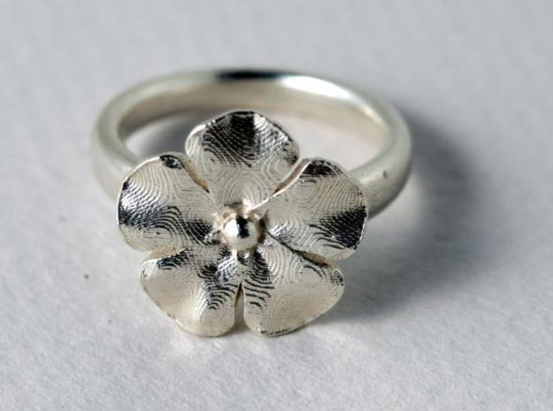new ring flower S53 3d printed Description