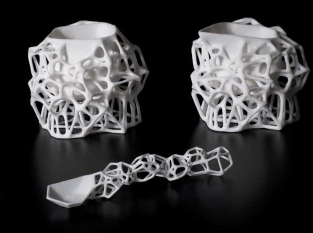 Voronoi Sugar Bowl 3d printed