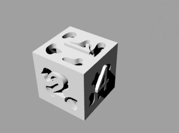 Cut Out Die 3d printed Description