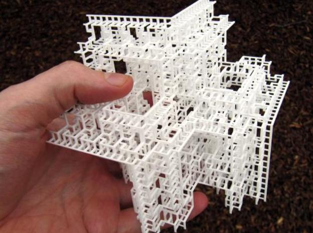 Fractal Graph 3 3d printed Photo, handheld for scale.
