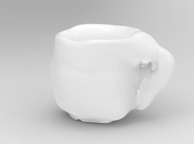 one cup a day | Day 05: Fat Cup 3d printed front