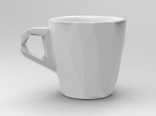 one cup a day | Day 09: Low Resolution Coffee Cup 3d printed Low Resolution Coffee Cup