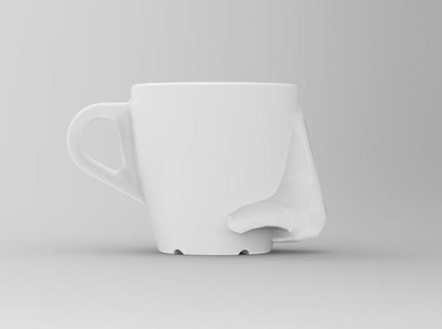one cup a day | Day 17: Aroma Cup 3d printed side view