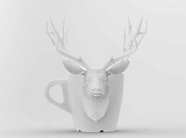 one cup a day | Day 25: Deer Cup 3d printed front