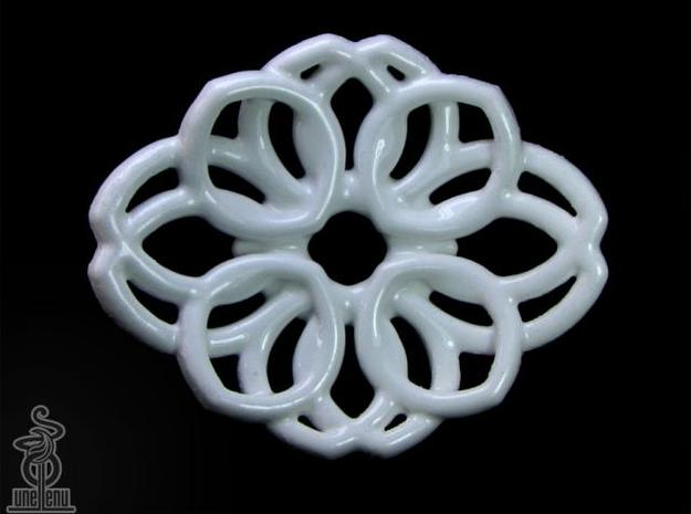 Waterlily soap dish 3d printed