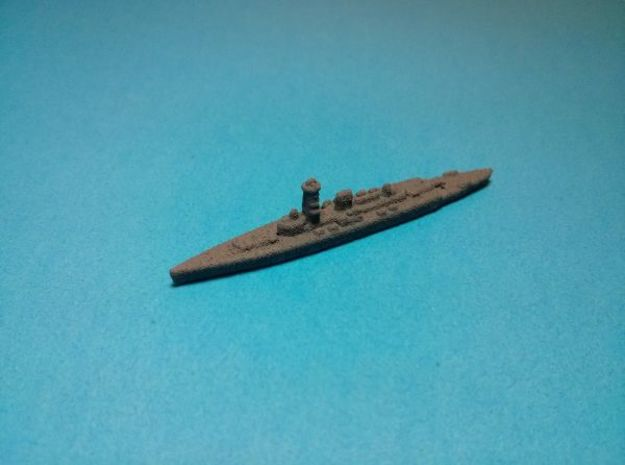 Deutschland class pocket-battleships 1/4000 3d printed Painted in dark grey base coat. Models sold unpainted.