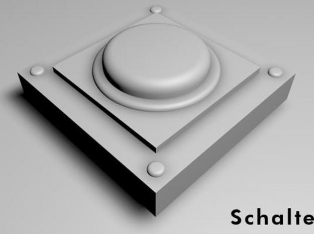 16 switches with round button for wargaming, tabl 3d printed schalter-solo