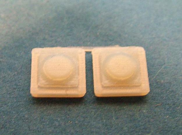 16 switches with round button for wargaming, tabl 3d printed