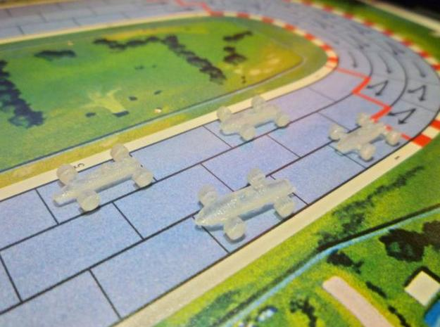 Formula 1 Miniatures - 1962 3d printed Transparent Detail 2