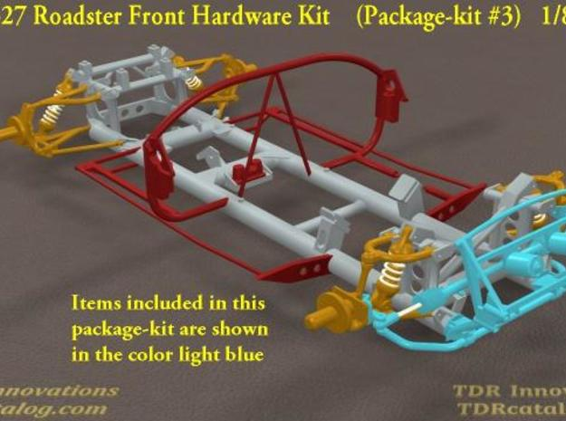 TDR 427 Roadster Front Hardware Kit 3d printed screen 1