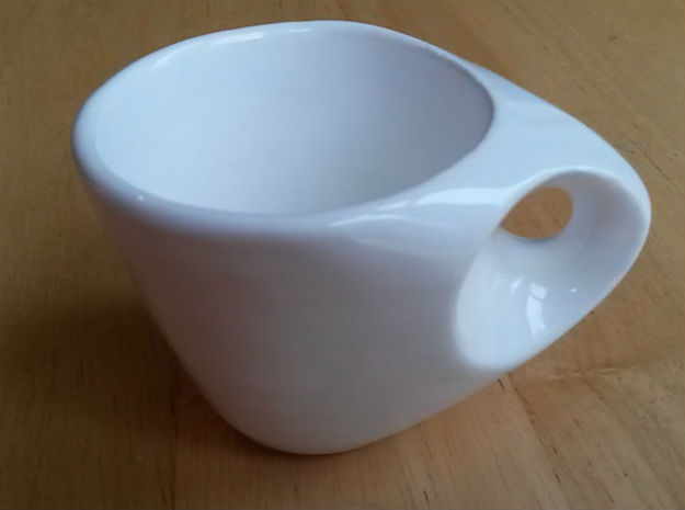 Hidden Maths Espresso Cup 3d printed Hidden Maths Espresso Cup