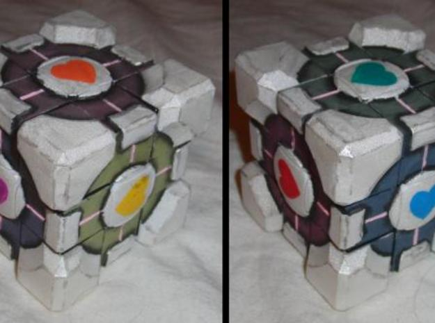 Companion Rubiks Cube Kit -v1a 3d printed Suggesting Paint Scheme.