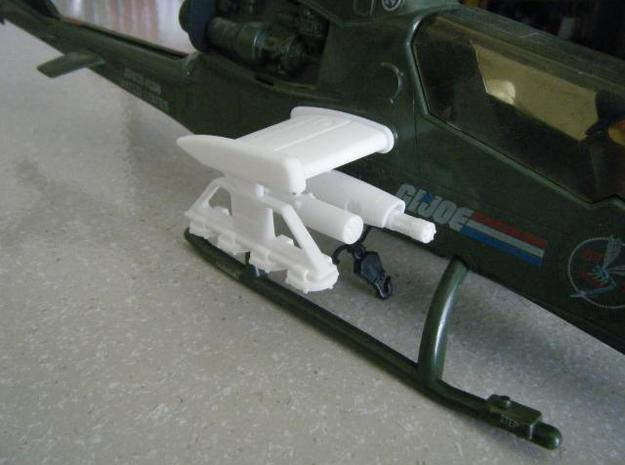 Dragonfy/Locust Small Rocket Pods (4) 3d printed Description