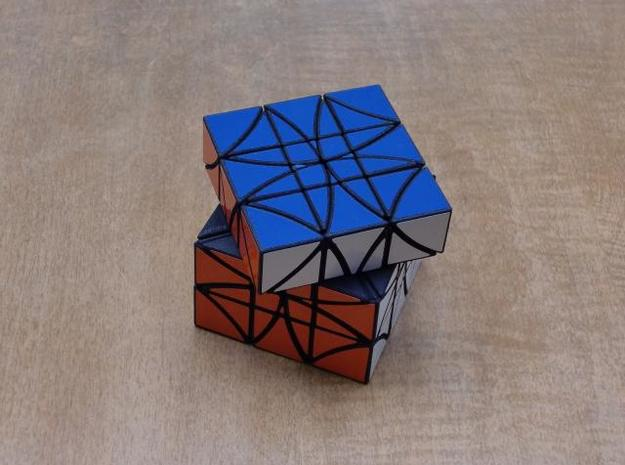 Copter 3x3 Part 2 3d printed 3x3 Turn