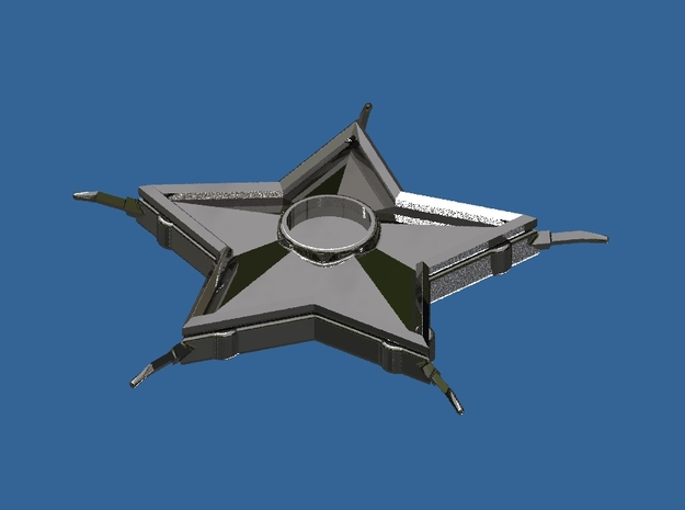 Smallville Starro Device Replica Prop 3d printed Render of the Smallville Starro Device