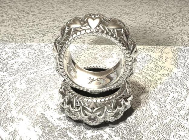 T's Ring V2 3d printed 3D render in maya